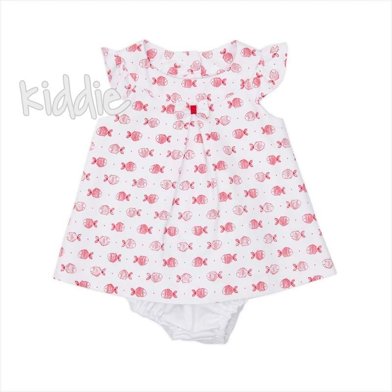 Бебешка рокля с копчета на гърба Babybol