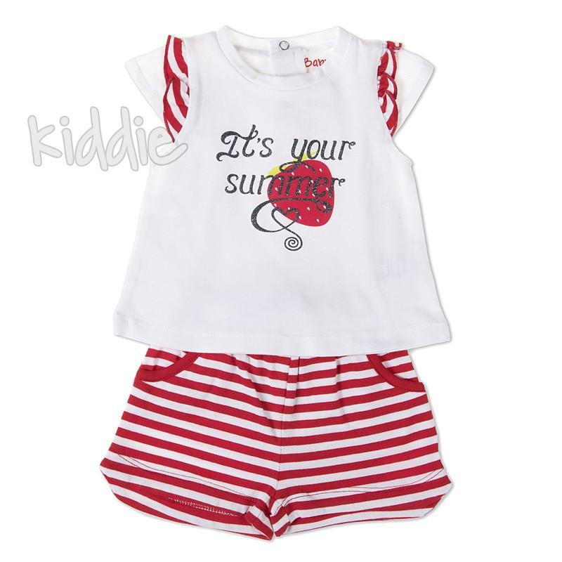 Бебешки комплект Babybol Its your summer за момиче