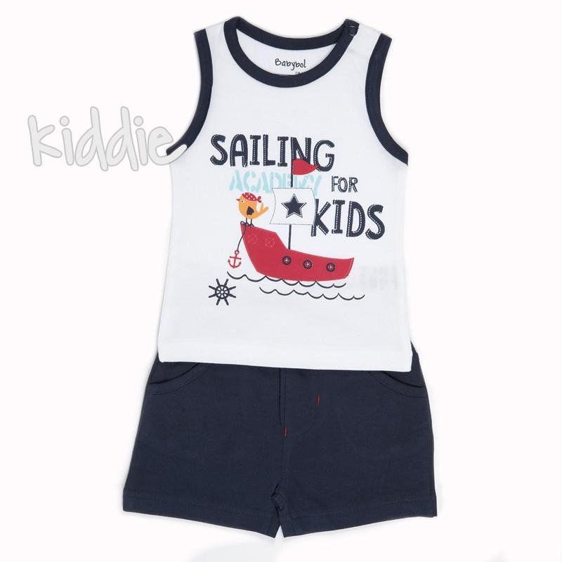 Бебешки комплект Babybol Sailing academy за момче