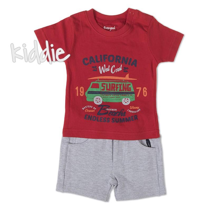 Бебешки комплект Babybol California за момче