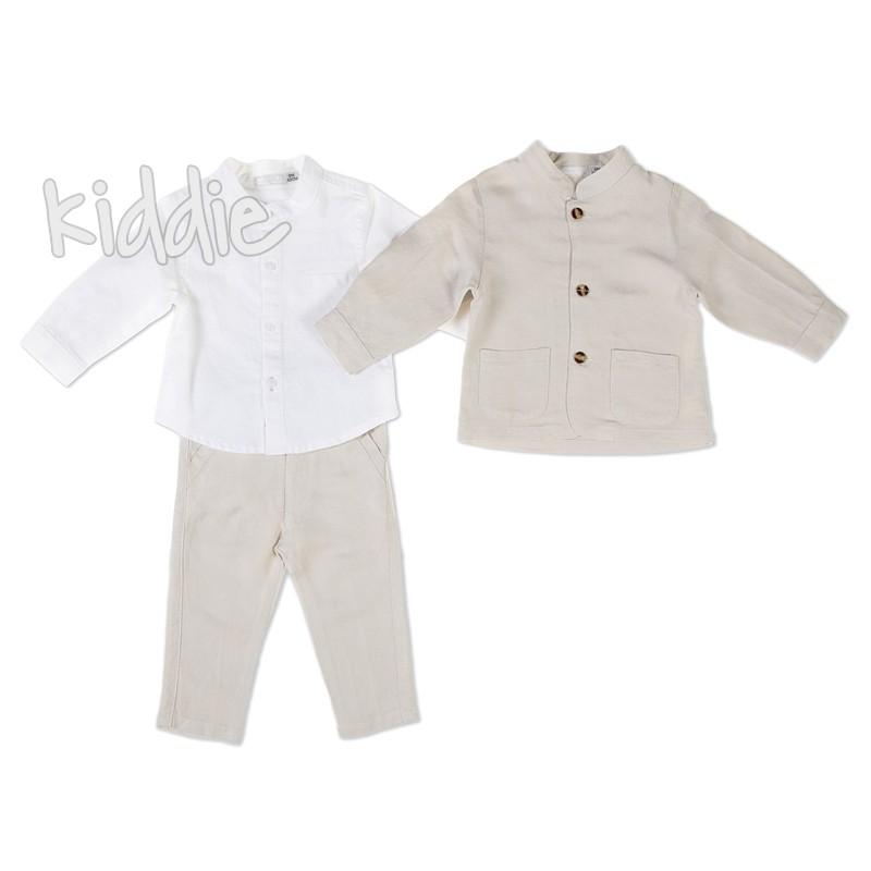 Бебешки комплект със сако Babybol за момче