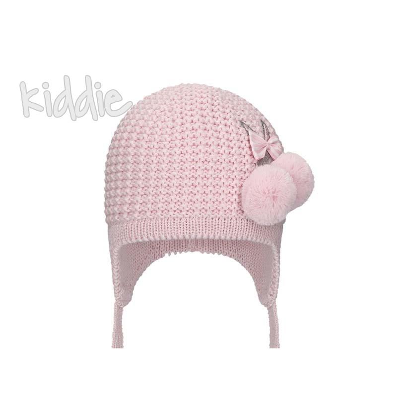 Бебешка нежна шапка Bixie за момиче