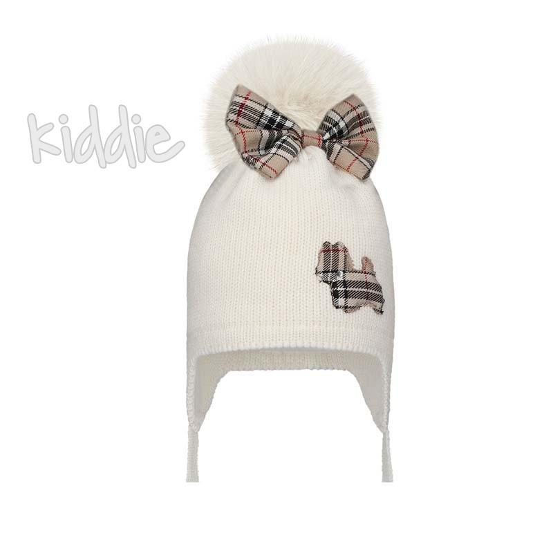 Детска шапка Bixie с панделка за момиче