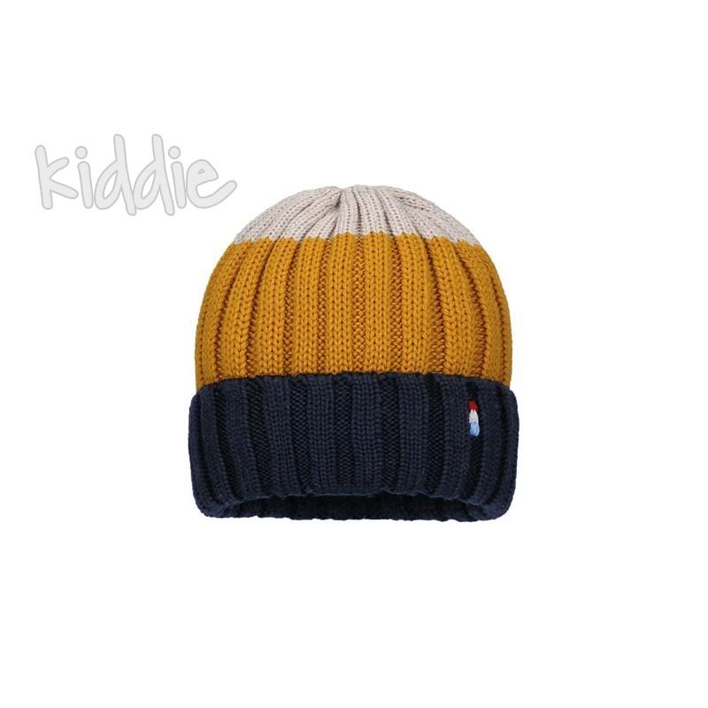 Детска трицветна шапка Bixie за момче