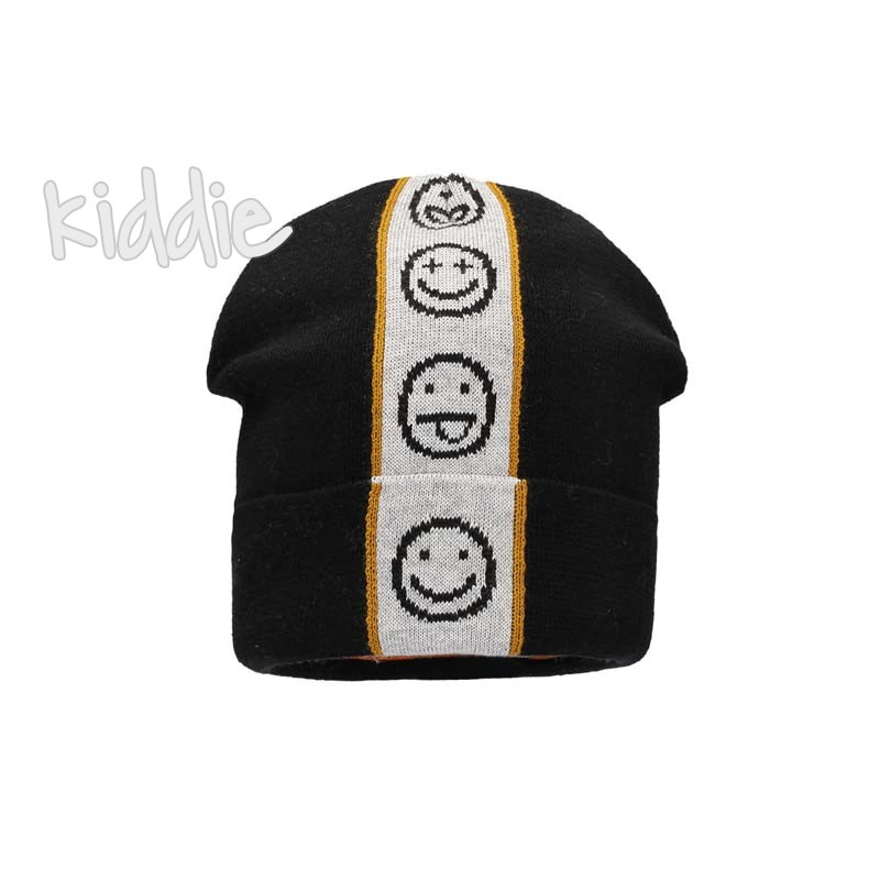 Детска шапка Bixie с емоджита за момче