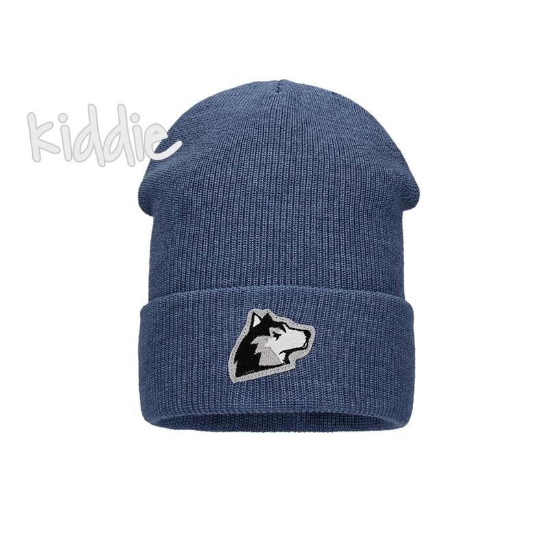 Детска шапка Bixie с емблема за момче