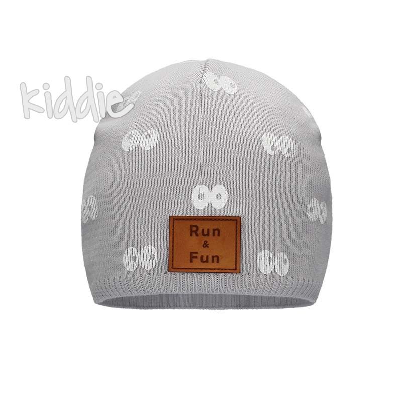Детска шапка Bixie за момче Run and fun