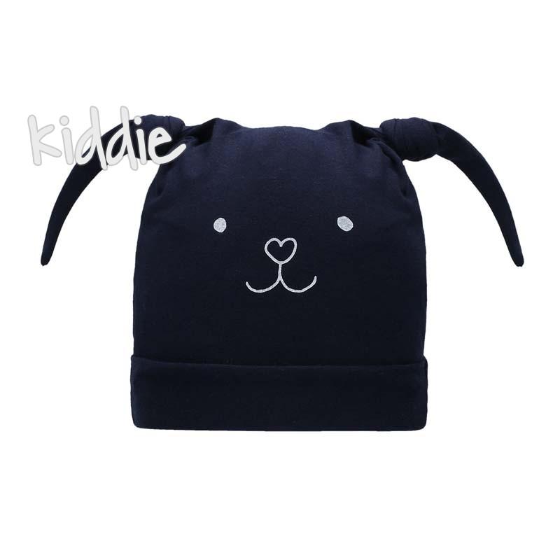 Бебешка шапка Bixie за момиче с уши