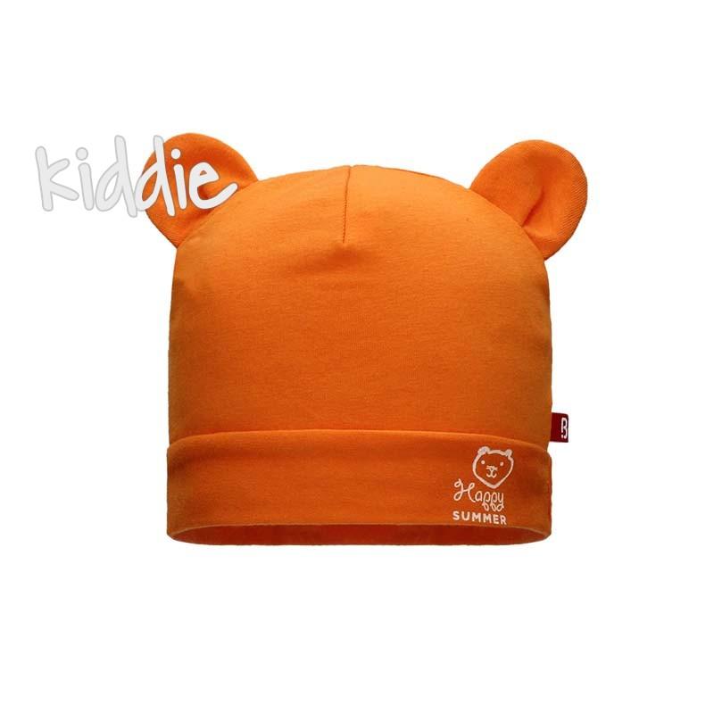 Бебешка шапка Bixie за момче с уши