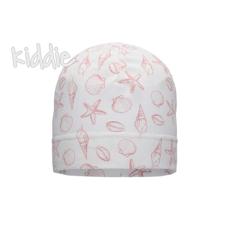 Детска шапка Bixie за момиче с принт