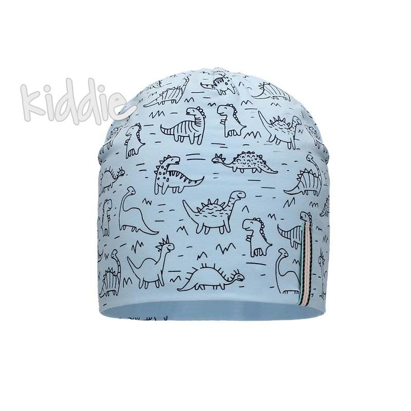 Детска шапка Bixie за момче Динозаври