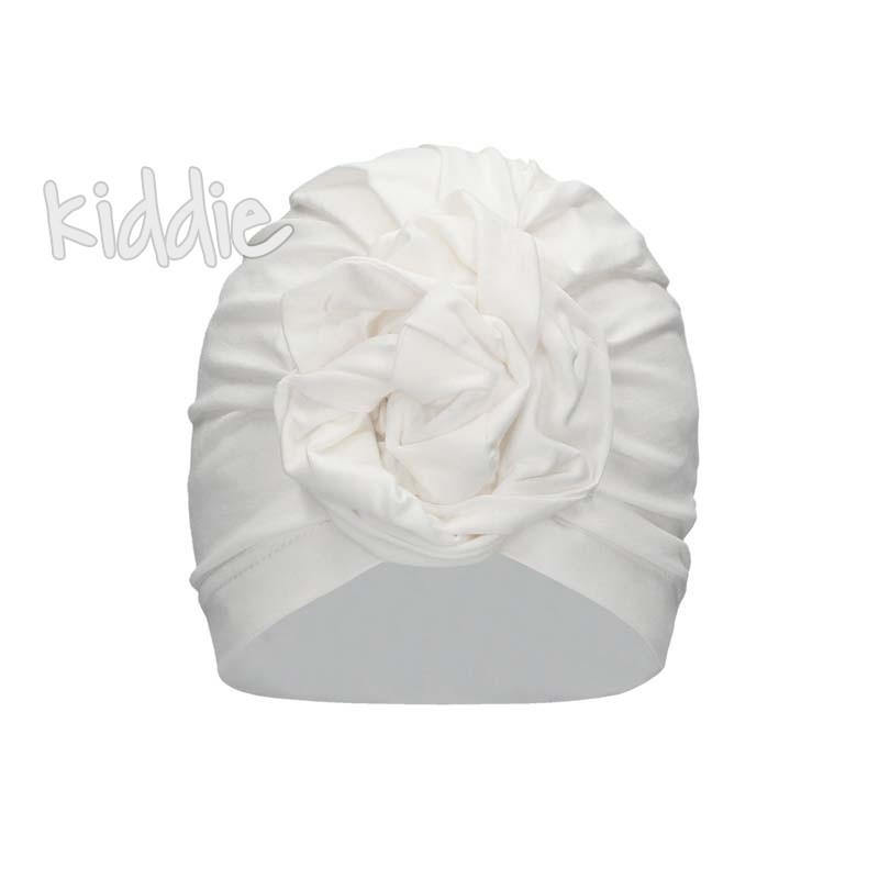 Детска едноцветна шапка Bixie за момиче