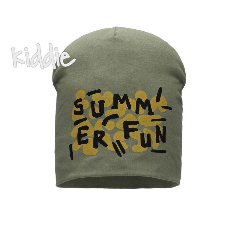 Детска шапка Bixie Summer Fun за момче
