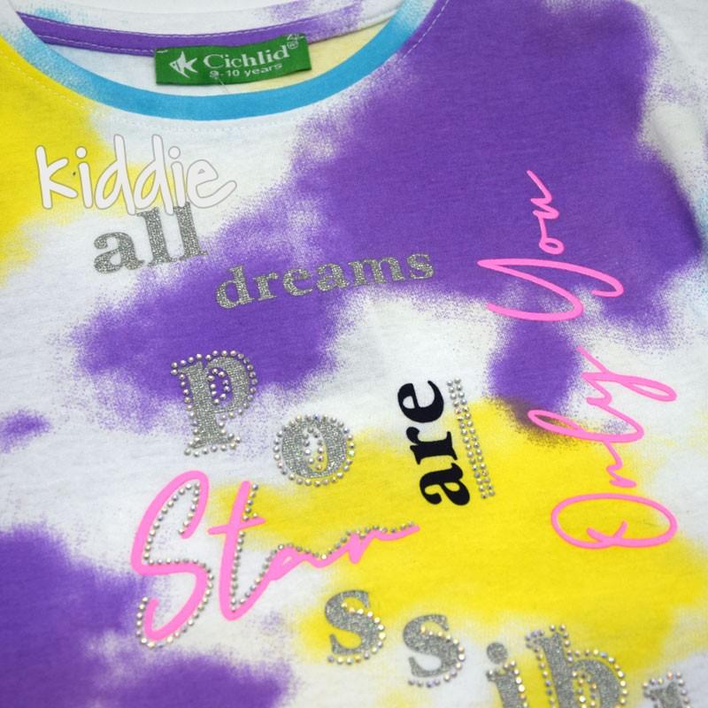 Детска тениска Relax Cichlid за момиче