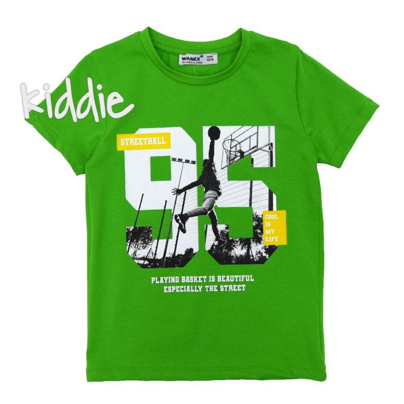 Детска тениска 95 Streetball Wanex за момче