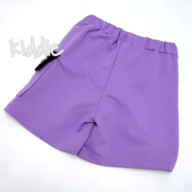 Детска пола-панталон Loco loco за момиче