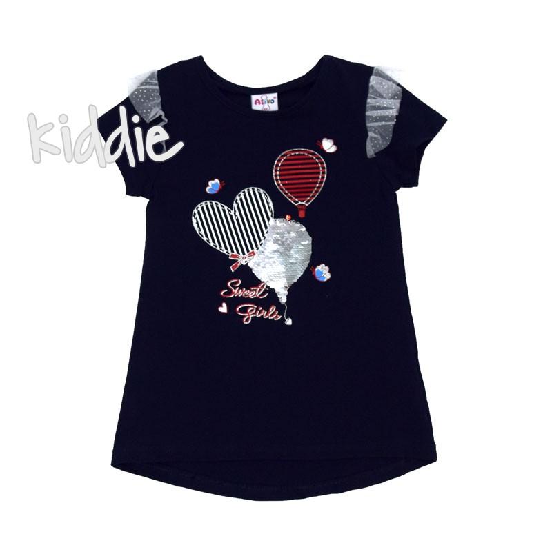 Детска тениска Sweet Girl Ativo за момиче