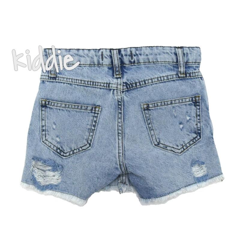 Детска дънкова пола-панталон Escabel за момиче