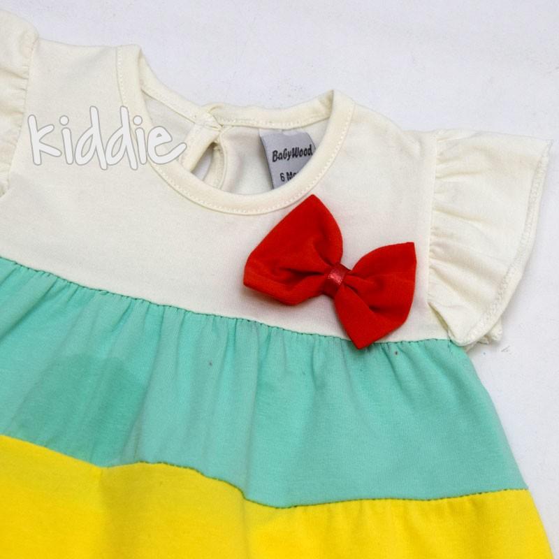 Бебешка рокля Baby Wood с памперс гащи