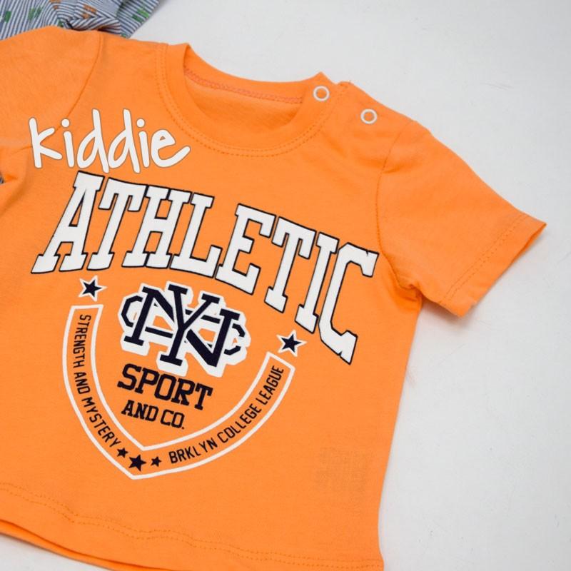 Бебешки комплект 56 3ч Athletic за момче