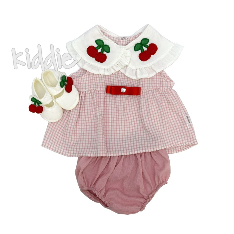 Бебешка рокля с памперс гащи Yikko