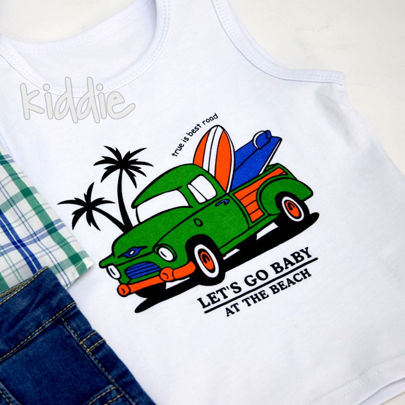 Бебешки комплект Lets go Baby Small Gang за момче