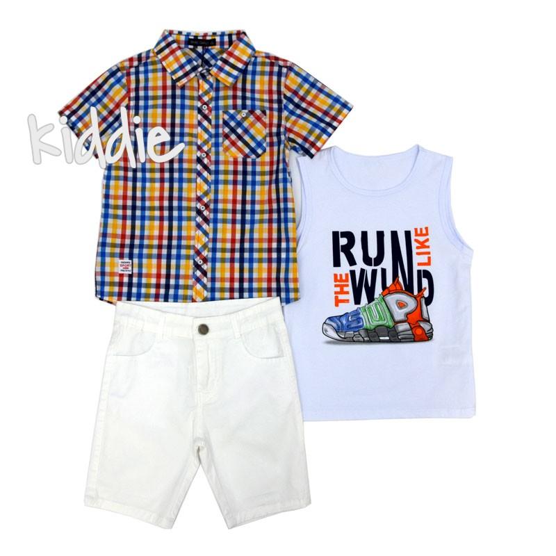 Детски комплект Small Gang за момче с риза