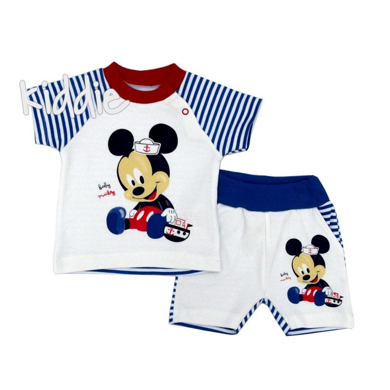 Бебешки комплект Baby Mickey Bebelotti за момче