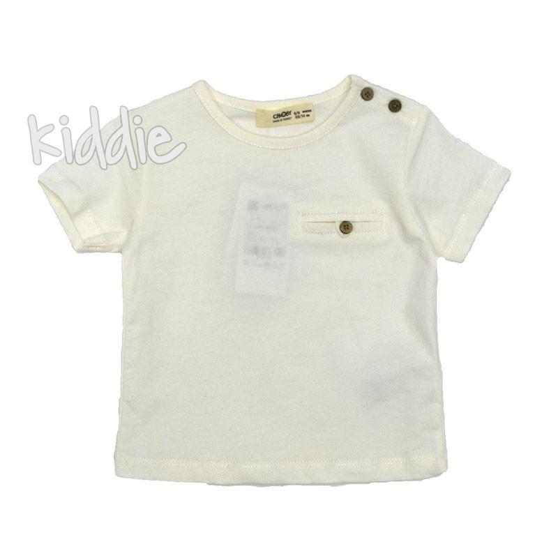 Бебешка блуза Cikoby за момче