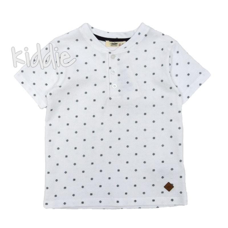 Детска тениска с копчета Cikoby за момче