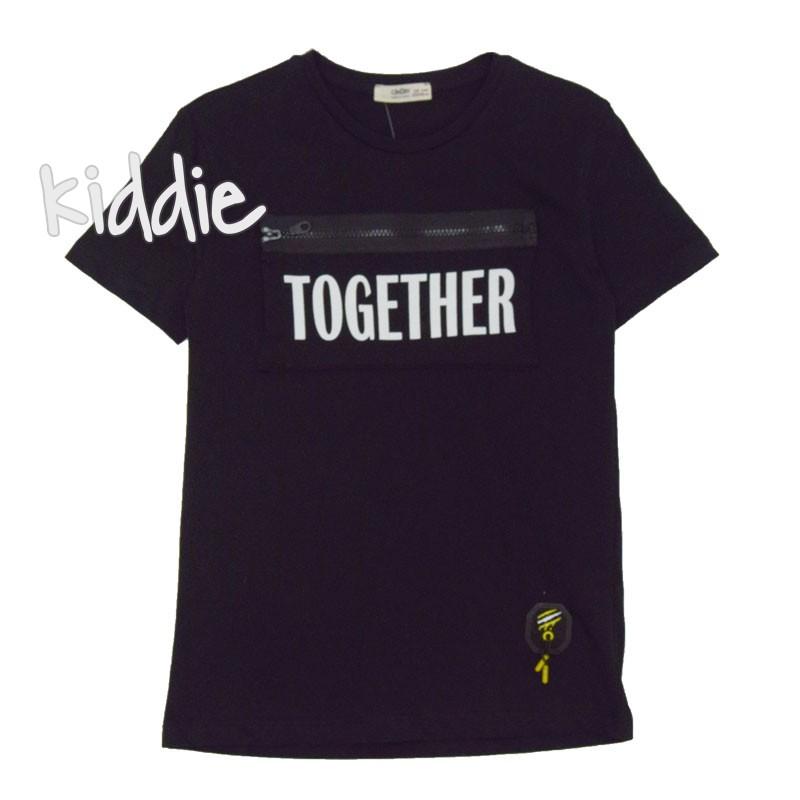 Детска тениска Together Cikoby за момче