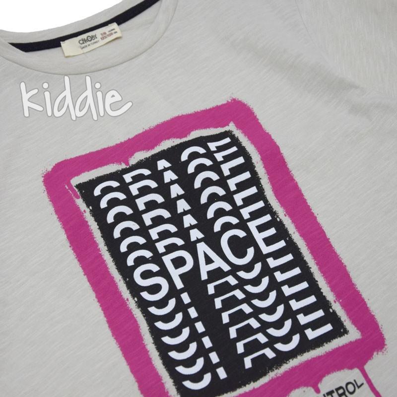 Детска тениска Space Cikoby за момче