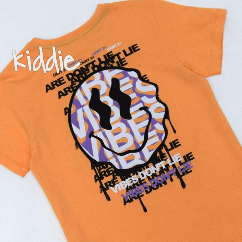 Детска тениска Vibes Cikoby за момче
