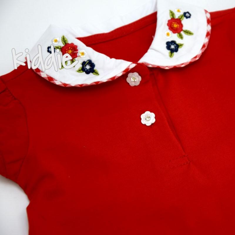 Бебешки комплект Lollitop с дънкова пола