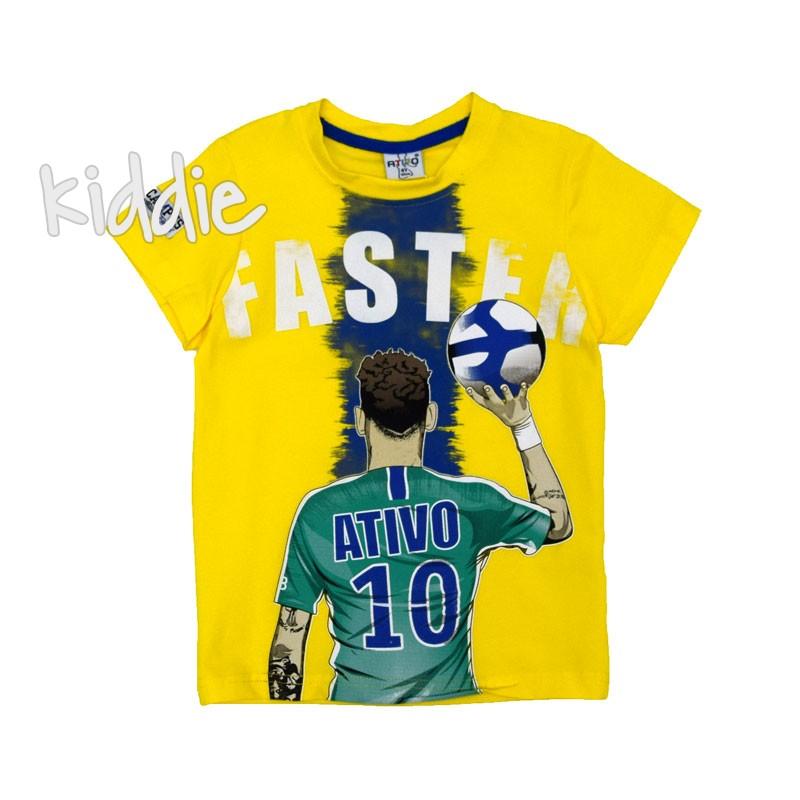 Детска тениска Faste Ativo за момче