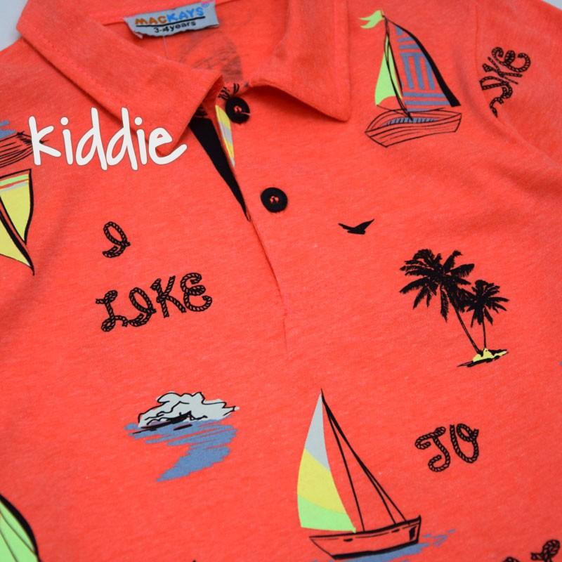 Детска поло блуза Mackays за момче