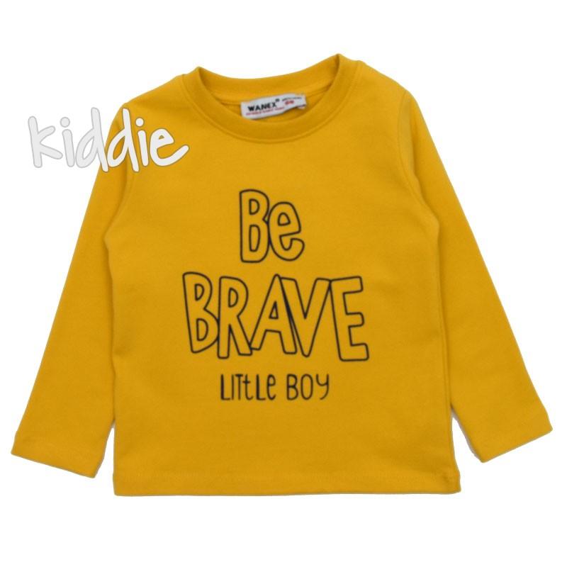 Блуза за момче Be brave, Wanex