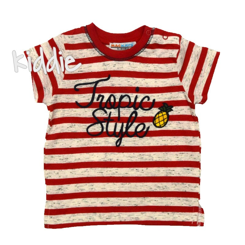 Бебешка тениска Tropic Style, Mackays за момче