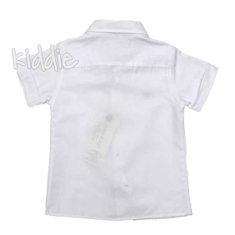 Бебешка риза с папионка Breeze за момче