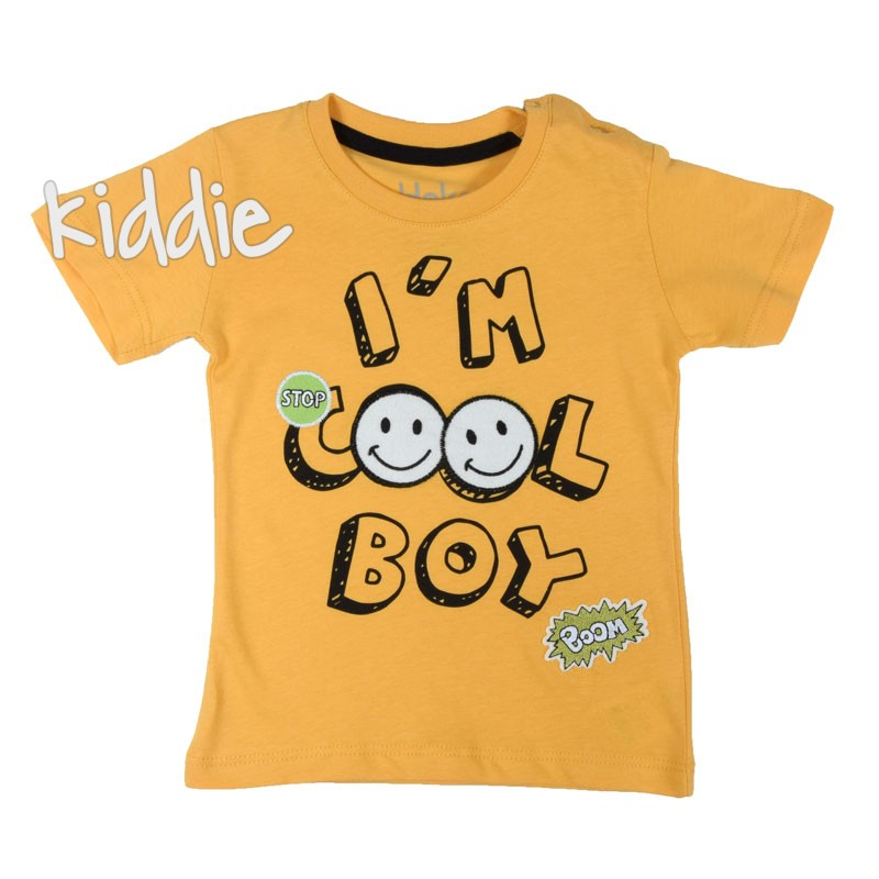 Бебешка тениска за момче Im cool boy Haknur