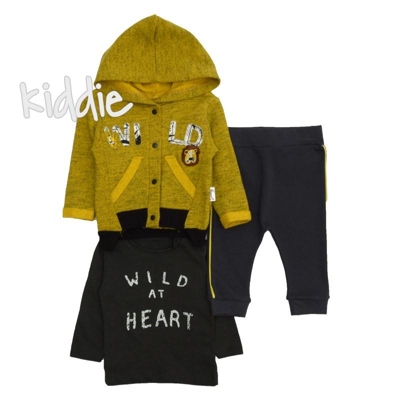 Бебешки комплект Wild at Heart Hippil Baby за момче