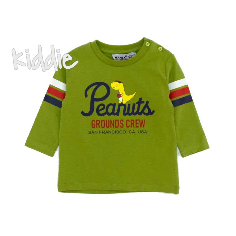 Бебешка блуза Wanex Peanuts за момче