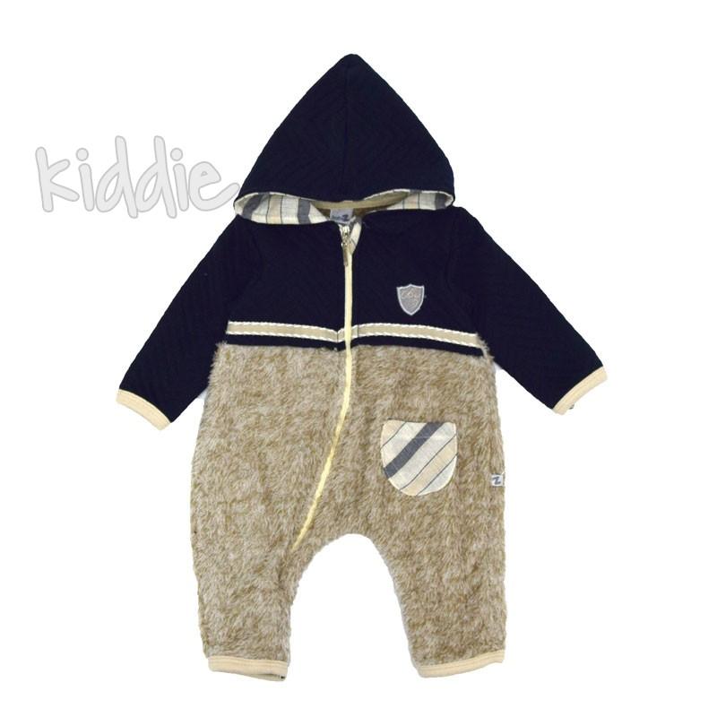 Бебешки гащеризон Bebus за момче с джоб