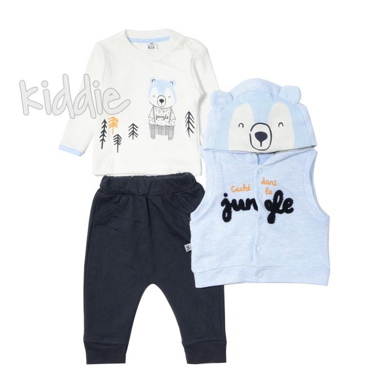Бебешки комплект за момче Jungle, Bebico