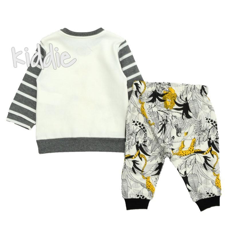 Бебешки комплект Tongs жираф и зебри за момче