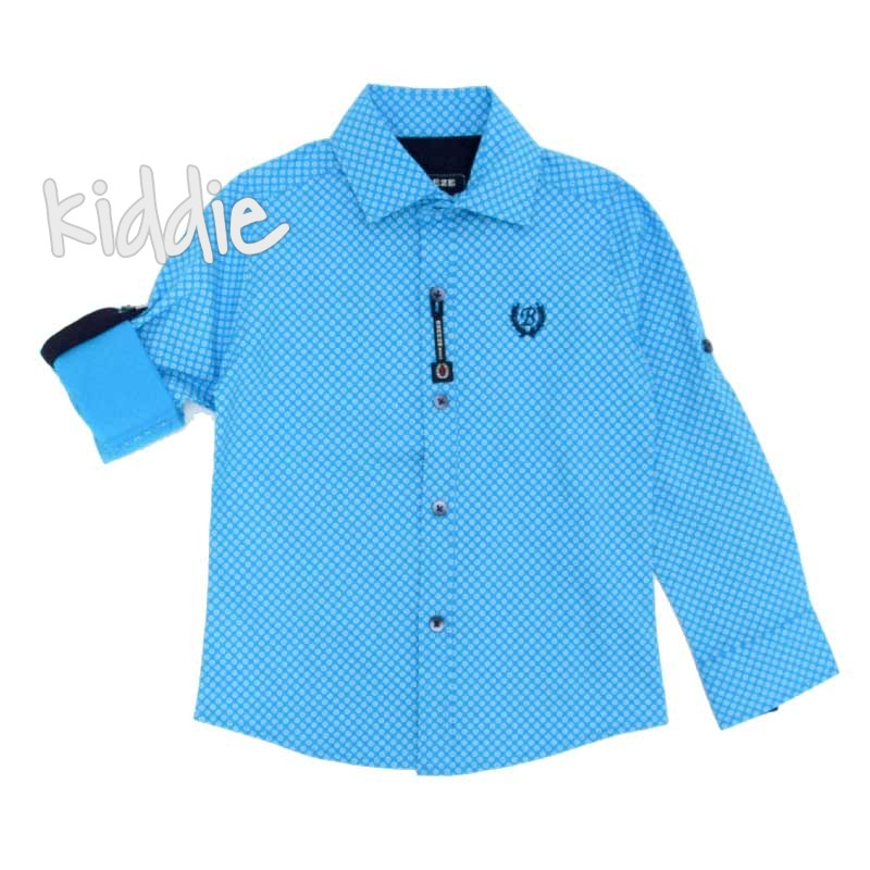Детска риза за момче Breeze с лого