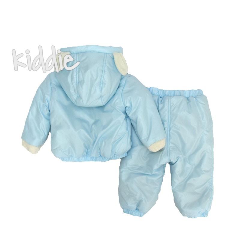 Бебешки комплект с шушляково яке Bebessi