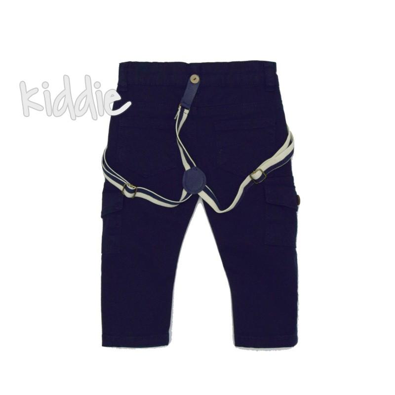 Бебешки панталон за момче с тиранти Cikoby
