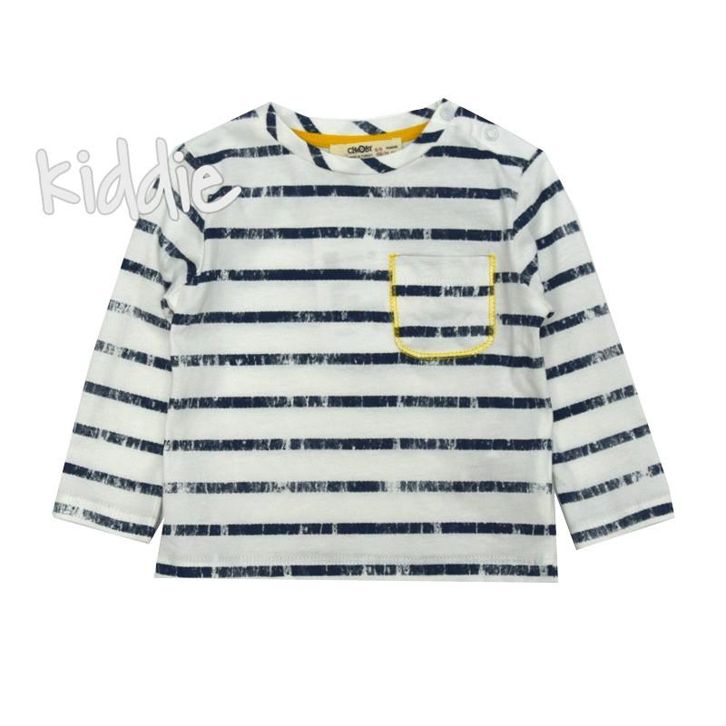 Бебешка блуза рае за момче с джоб Cikoby