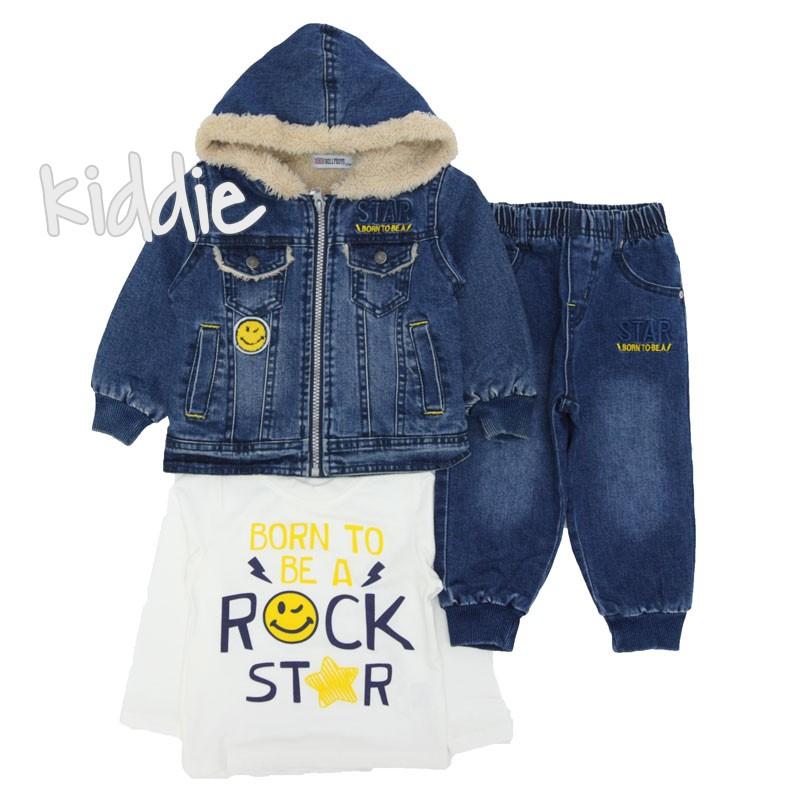 Бебешки комплект за момче Holly boy